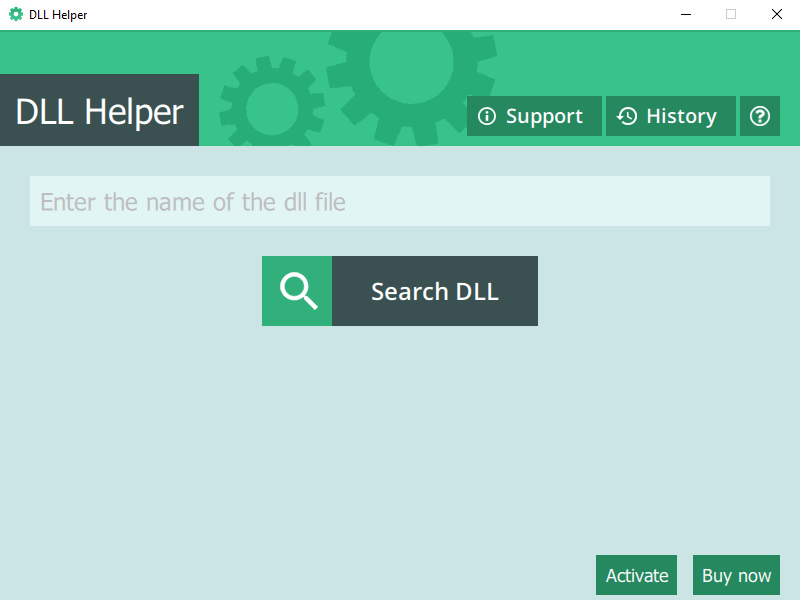 DLL Helper - screen 3